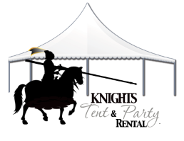 Knight's Tent and Party Rental logo