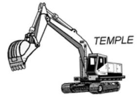 Temple Grading and Construction Company, Inc. logo