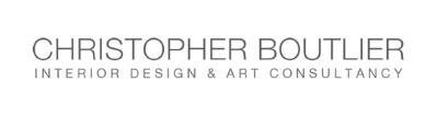 Company Logo Christopher Boutlier Interior Design & Art Consultancy