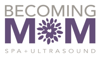 Company Logo Becoming Mom Spa + Ultrasound
