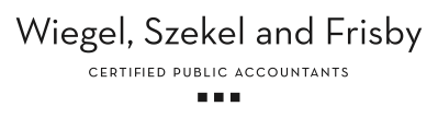 Company Logo Wiegel, Szekel and Frisby An Accountancy Corp.