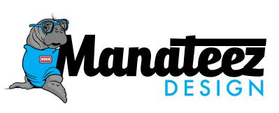 Company Logo Manateez Design