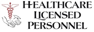 HEALTHCARE LICENSED PERSONNEL logo