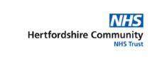 Company Logo Hertfordshire Community NHS Trust