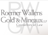 Roemer Wallens Gold and Mineaux logo