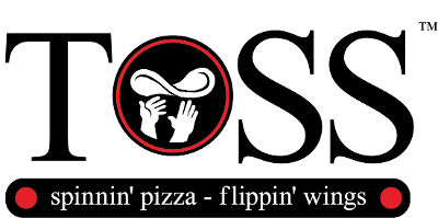 Toss Pizza and Wings logo