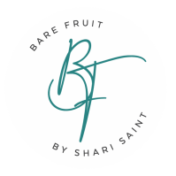 Bare Fruit Sugaring by Shari Saint logo