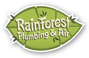 Rainforest Plumbing and Air logo