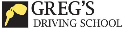 Greg's Driving School logo