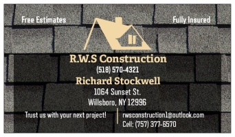 R.W.S Construction, Inc. logo