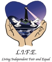 Living Independent Fair & Equal logo