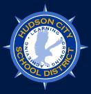 Hudson City School District logo