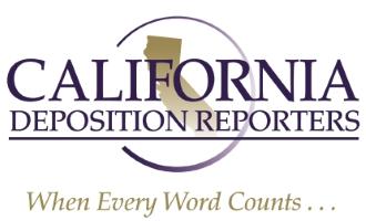 California Deposition Reporters, Inc. logo