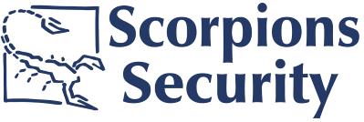 Company Logo Scorpions Security