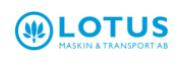 Company Logo Lotus Maskin & Transport Ab