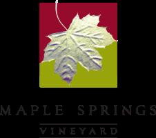 Company Logo Maple Springs Vineyard