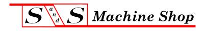 S & S Machine Shop, Inc. logo