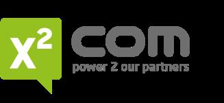 Company Logo X2Com