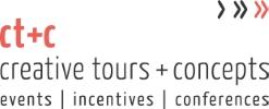Company Logo creative tours + concepts GmbH + Co KG