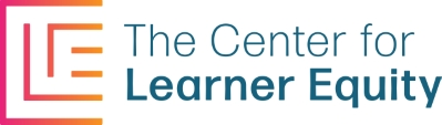 Company Logo Center for Learner Equity