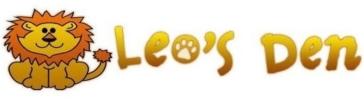 Company Logo Leo's Den Nursery