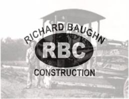Richard Baughn Construction, Inc. logo