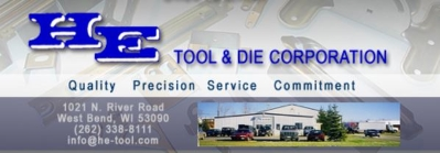 H-E Tool and Die Corp. logo