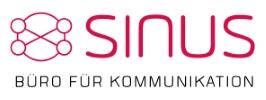 Das Logo von Sinus - Büro für Kommunikation GmbH