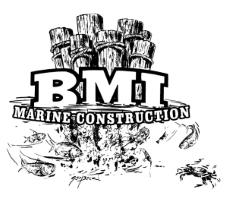 BMI Marine Construction logo