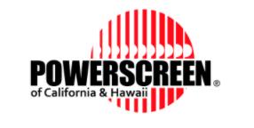 Powerscreen of California & Hawaii logo