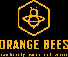 Orange Bees logo