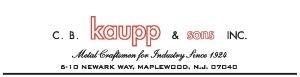 C.B. Kaupp & Sons, Inc. logo