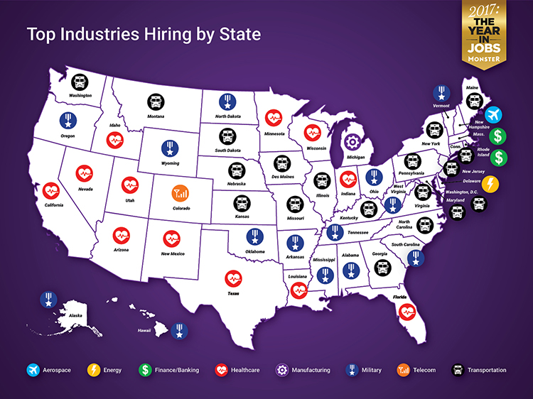 Companies Hiring By State | Monster com