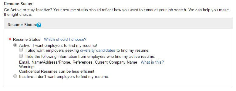 How To Make Your Resume Confidential Help Ohiomeansjobs