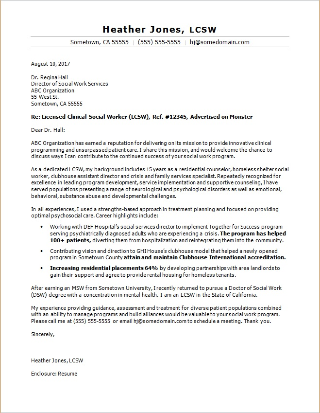 cover-letter-social-worker Sample Curriculum Vitae For Counselors on formato de, ejemplos de, resume or, what is, high school,