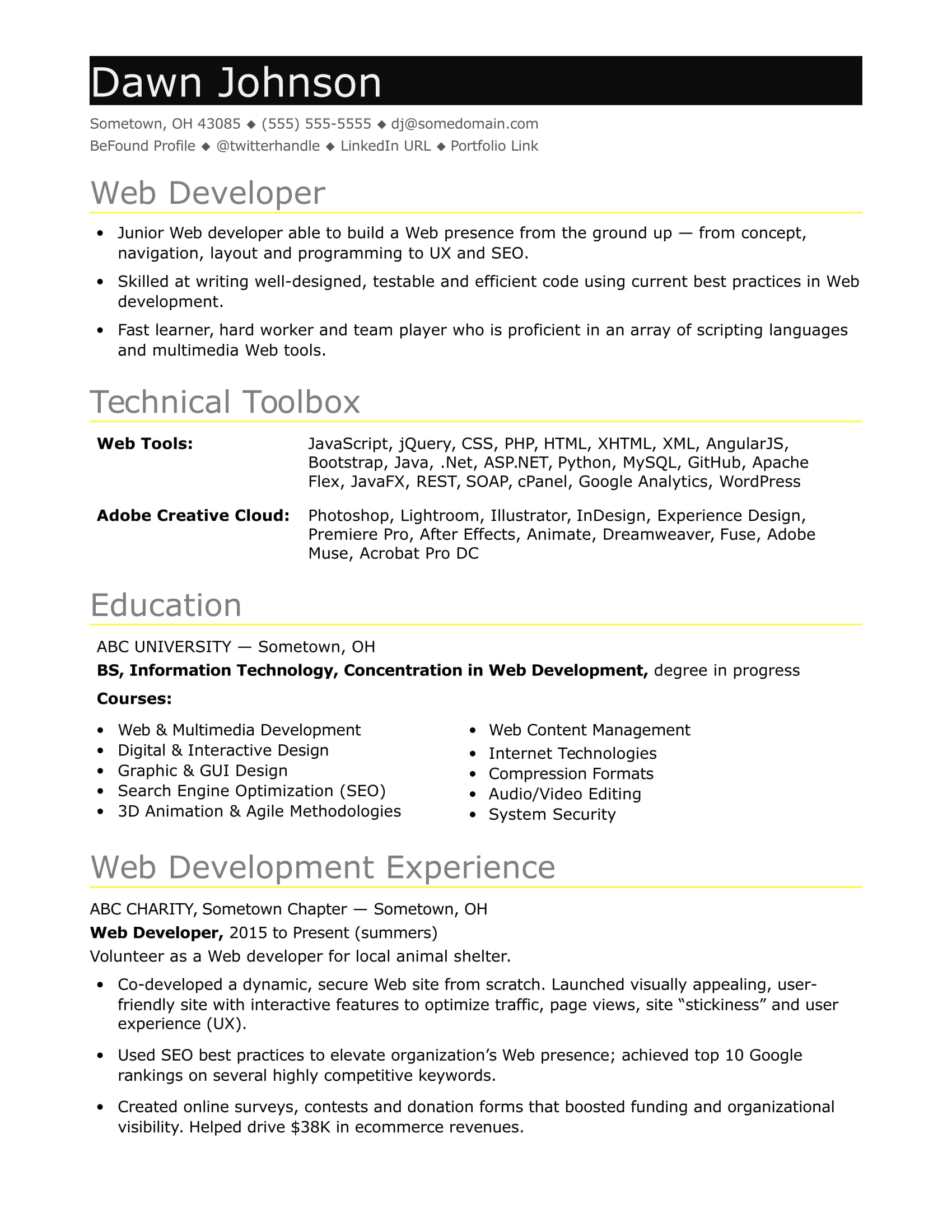 it-developer-entry-level Java Web Developer Resume Example on web applications, templates download free, for hands, covering letter for, beginner sample, format for 2 year experience, entry level core,