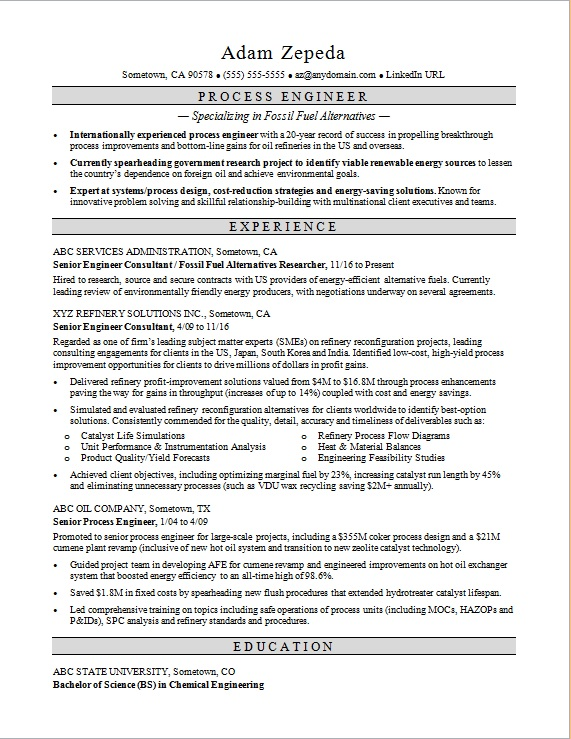 Resume writing services az