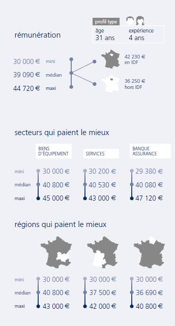 infographie Chef de projet webmarketing